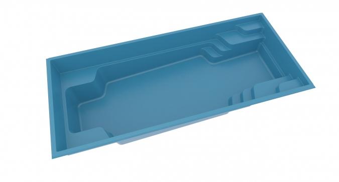 keramický bazén X Trainer 3D