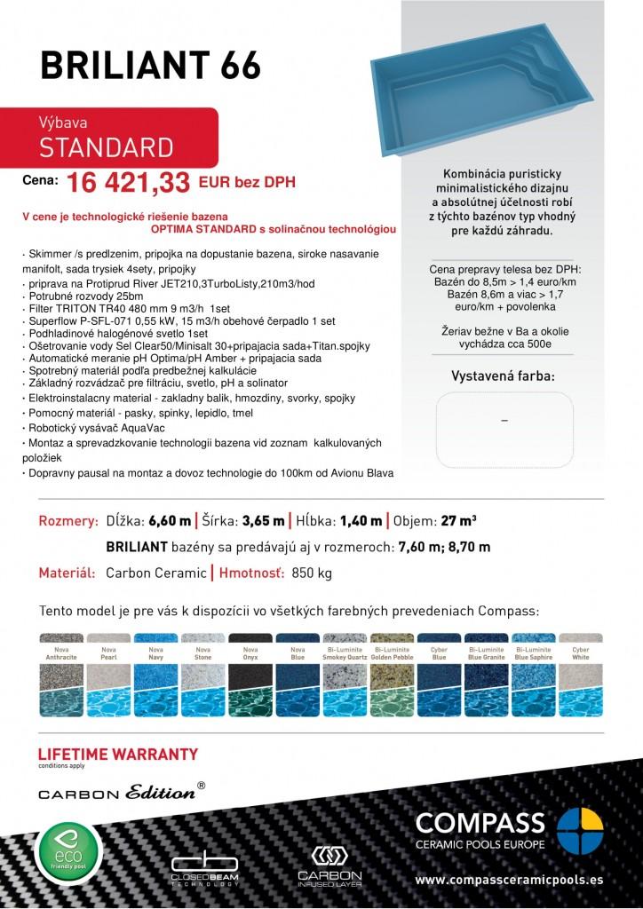 14MG3092 Briliant66 Carbon Ceramic OPTIMA STANDARD Morska voda-1