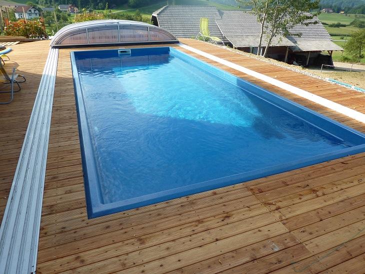 keramický bazén Trend